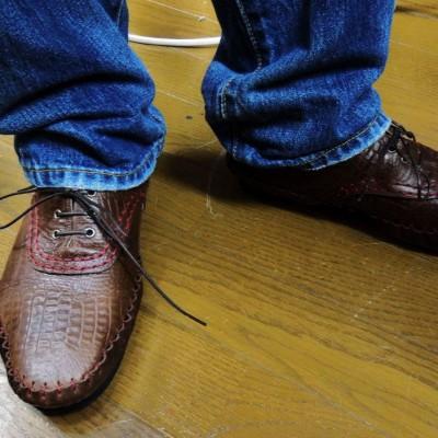FB 11/17手縫いモカシン講座