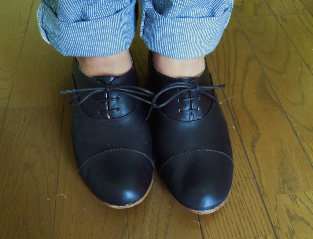 靴作り講座の生徒さん作品がまた一足 | シューネクスト