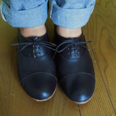 靴作り講座の生徒さん作品がまた一足   シューネクスト